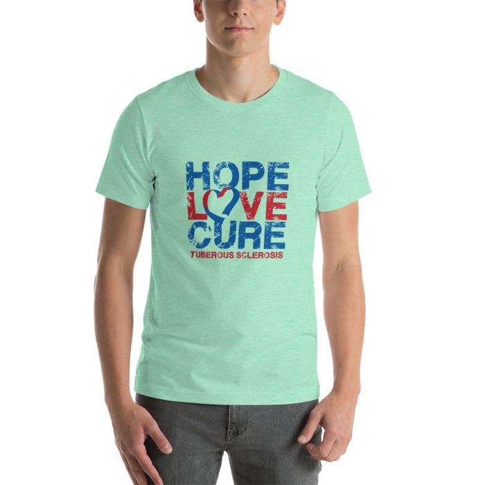 Tuberous Sclerosis Complex t-shirt image mint green