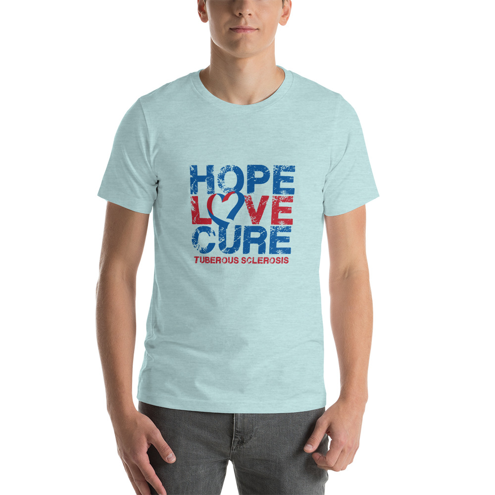 Tuberous Sclerosis Complex t-shirt image ice blue